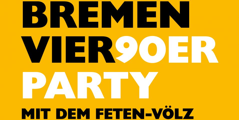 Bremen Vier 90er-Party