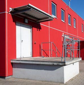 Laderampe Backstage Stadthalle OHZ